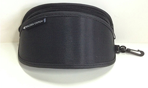 Clip on sunglass case